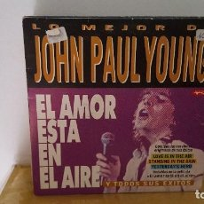 Discos de vinilo: SINGLE - JOHN PAUL YOUNG - LO MEJOR DE - LOVE IS IN THE AIR/YESTERDAYS HERO-DIVUCSA PSN 287-PROMO. Lote 92046665