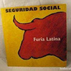 Discos de vinilo: SEGURIDAD SOCIAL FURIA LATINA LP . Lote 92049180