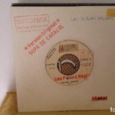 Discos de vinilo: SINGLE SIDED - LAS PERLAS NEGRAS - SOPA DE CARACOL - ESPECTACULAR ELS 1029 - 1991 - PROMO. Lote 92049375