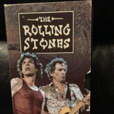 Discos de vinilo: THE ROLLING STONES BRIDGE TO BABYLON VHS PROMOCIONAL DE LA MARCA AGFA. Lote 92071770