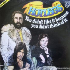 Discos de vinilo: HOTLEGS: YOU DIDN´T LIKE IT BECAUSE YOU DIDN´T THINK OF IT. ERIC STEWART, KEVIN GODLEY, LOL CREME.... Lote 92087780