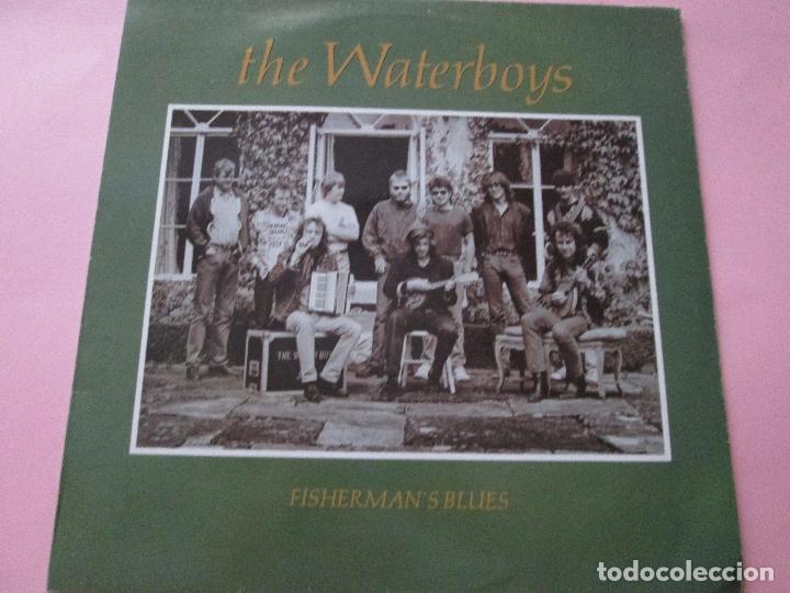 LP-VINILO-THE WATERBOYS-FISHERMAN´S BLUES-1988-ENSIGN RECORDS-11 TEMAS-VER FOTOS. (Música - Discos - LP Vinilo - Country y Folk)