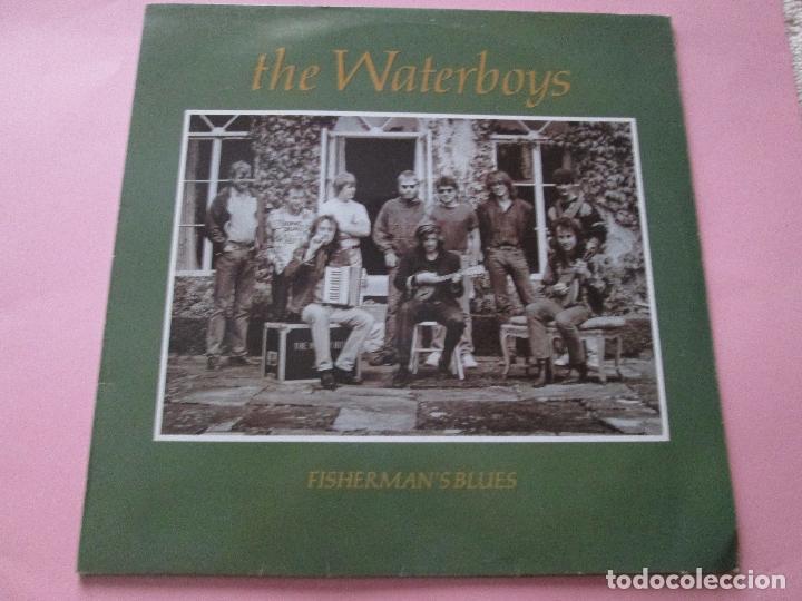 Discos de vinilo: lp-vinilo-the waterboys-fisherman´s blues-1988-ensign records-11 temas-ver fotos. - Foto 2 - 92088735