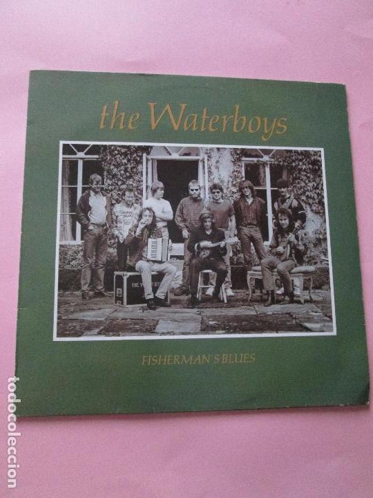 Discos de vinilo: lp-vinilo-the waterboys-fisherman´s blues-1988-ensign records-11 temas-ver fotos. - Foto 9 - 92088735