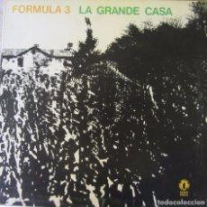 Discos de vinilo: FORMULA 3: LA GRANDE CASA (EXCELENTE PROGRESIVO ITALIANO). Lote 92089150