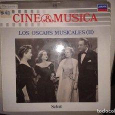 Discos de vinilo: LP - LOS OSCARS MUSICALES II - CINE & MUSICA Nº 48 SALVAT. Lote 92093220