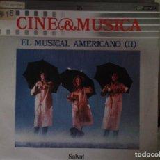Discos de vinilo: LP - EL MUSICAL AMERICANO II - CINE & MUSICA Nº 16 SALVAT. Lote 92093475