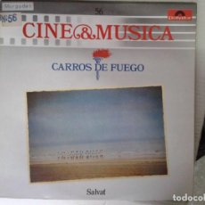 Discos de vinilo: LP - CARROS DE FUEGO (VANGELIS) - CINE & MUSICA Nº 56 SALVAT. Lote 92093725