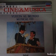 Discos de vinilo: LP - LA VUELTA AL MUNDO MUSICAL II - CINE & MUSICA Nº 27 SALVAT. Lote 92094840