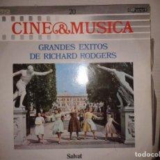 Discos de vinilo: LP - GRANDES EXITOS DE RICHARD RODGERS - CINE & MUSICA Nº 20 SALVAT. Lote 92095090