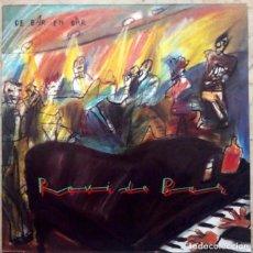 Discos de vinilo: ROVI DE BAR - DE BAR EN BAR - MINI LP MAX MUSIC 1986 + DOCUMENTO PROMOCIONAL (4 HOJAS). Lote 92095470