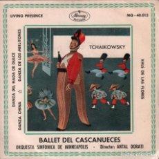 Discos de vinilo: BALLET DEL CASCANUECES ORQUESTA SINFONICA DE MINNEAPOLIS EP MERCURY DE 1960 ,RF - 2736. Lote 92097635