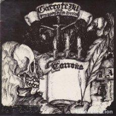Discos de vinilo: GARROTE VIL - CARROÑA + 3 - EP DE 4 CANCIONES PUNK. Lote 92102050