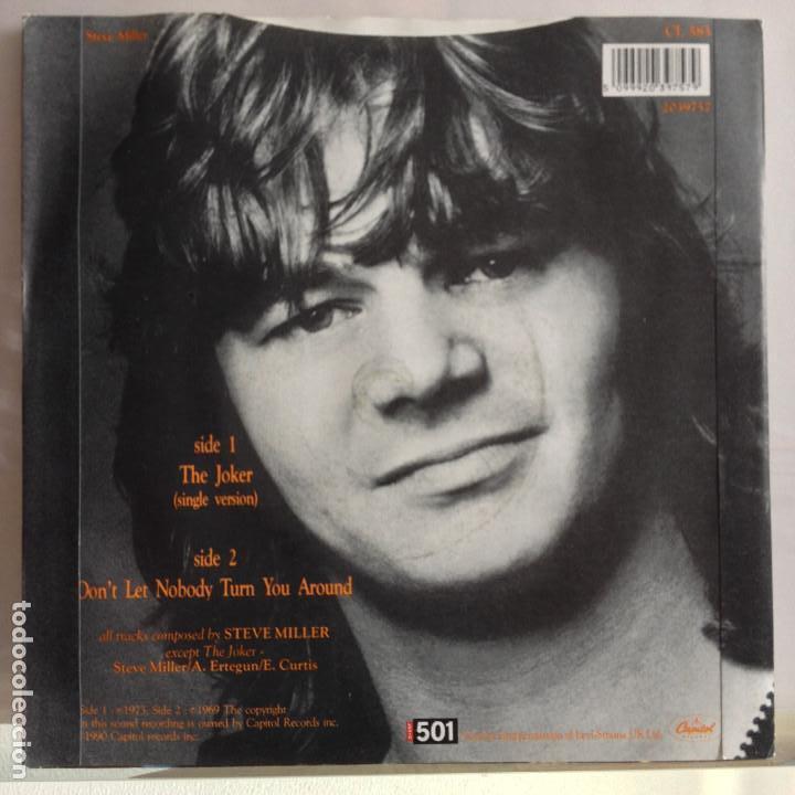 Discos de vinilo: The Steve Miller Band - the jocker / don´t let nobody turn you around - nuevo - Foto 2 - 92123195