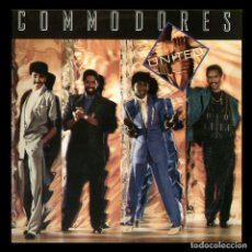Discos de vinilo: COMMODORES - SPAIN LP POLYDOR / PLANETA AGOSTINI 1990 - UNITED (1986) - RARE EDITION FOR COLLECTORS. Lote 92131065