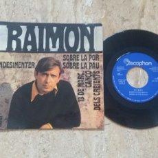 Discos de vinilo: RAIMON