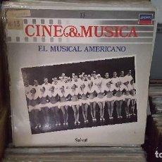 Discos de vinilo: LP - EL MUSICAL AMERICANO - CINE & MUSICA Nº 13 SALVAT. Lote 92139855