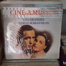 Discos de vinilo: LP - LOS GRANDES TEMAS ROMANTICOS - CINE & MUSICA Nº 4 SALVAT (INCLUYE FASCICULO). Lote 92140090