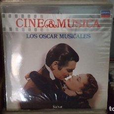 Discos de vinilo: LP - LOS OSCARS MUSICALES - CINE & MUSICA Nº 1 SALVAT (INCLUYE FASCICULO). Lote 92140690