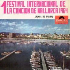 Discos de vinilo: FRANCISKA, EP, VERANO EN PALMA DE MALLORCA + 3, AÑO 1964. Lote 92150045