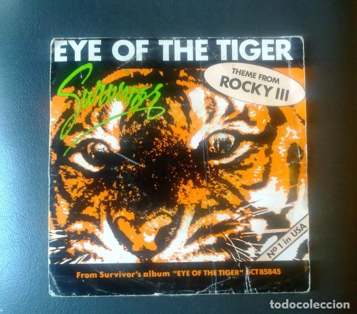 EYE OF THE TIGER. (Música - Discos - Singles Vinilo - Rock & Roll)