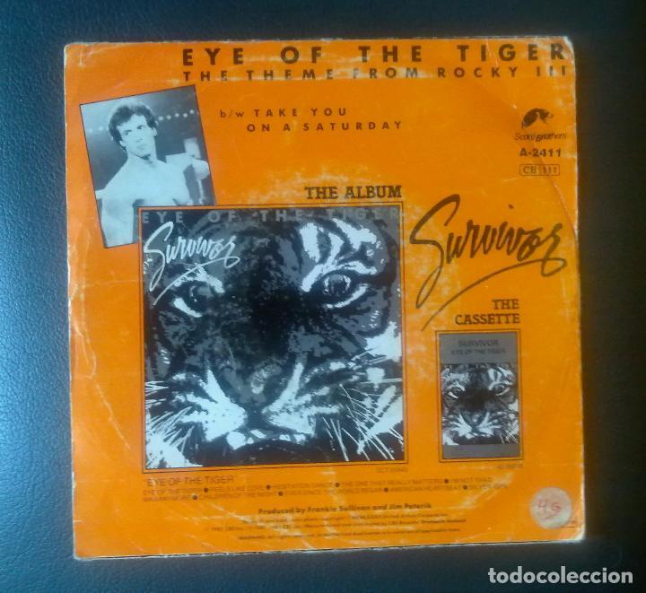 Discos de vinilo: EYE OF THE TIGER. - Foto 3 - 92153205