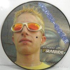 Discos de vinilo: DISCO LP PICTURE - JOHN-CORE RESIDENT DJ OF PIRAMIDE CABANES CASTELLON - VINILO. Lote 92172125