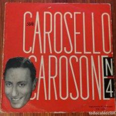 Discos de vinilo: RENATO CAROSONE Y SU SEXTET DISCO 25 CMS. Lote 92174172