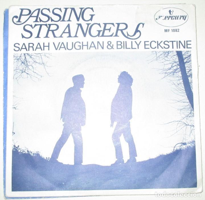 SARAH VAUGHAN AND BILLY ECKSTINE - PASSING STRANGERS - SINGLE MERCURY 1969 (Música - Discos - Singles Vinilo - Funk, Soul y Black Music)