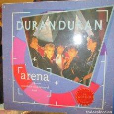 Discos de vinilo: DURAN DURAN - ARENA. RECORDED AROUND THE WORLD - EMIODEO - 1984. Lote 92205875