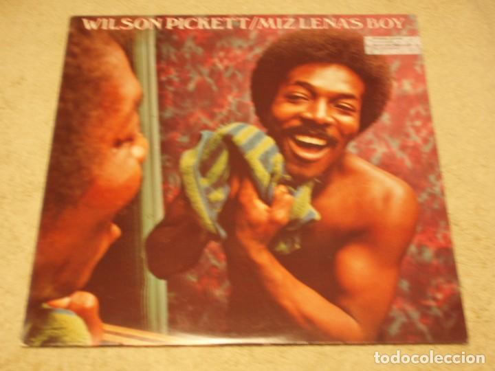 WILSON PICKETT – MIZ LENA'S BOY, US 1973 RCA VICTOR (Música - Discos - LP Vinilo - Funk, Soul y Black Music)