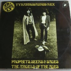 Discos de vinilo: TYRANNOSAURUS REX - PROPHETS, SEERS & SAGES ... MY PEOPLE WERE FAIR ... - DOBLE LP - 1972. Lote 92226555