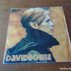 Discos de vinilo: SINGLE 45 RPM, RCA MADRID 1977, DAVID BOWIE: SOUND AND VISION. Lote 92234675