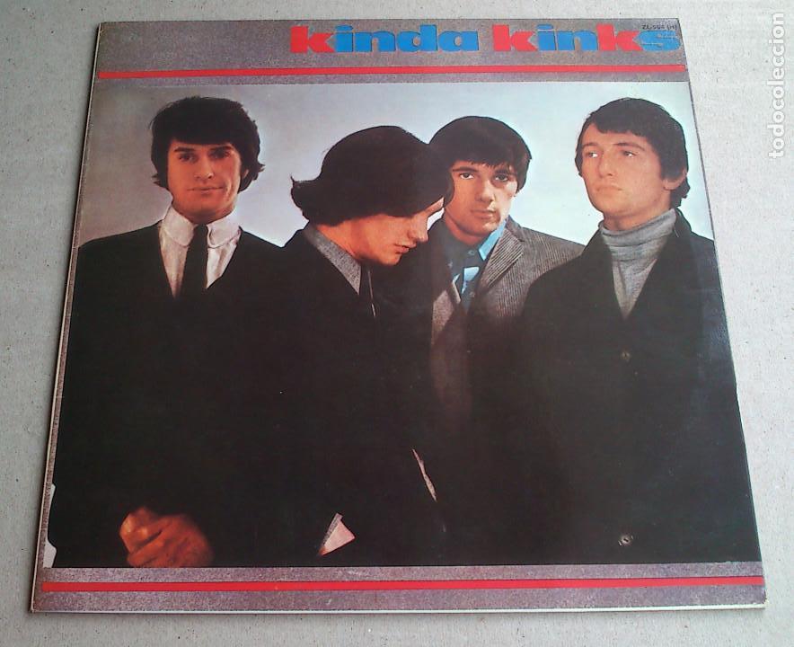 THE KINKS, KINDA KINKS. LP - ESPAÑA - REEDICIÓN 1981 - BUEN ESTADO (Música - Discos - LP Vinilo - Pop - Rock Extranjero de los 50 y 60)