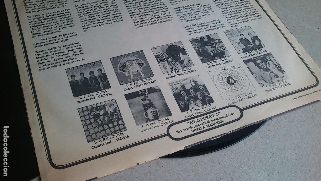 Discos de vinilo: THE KINKS, KINDA KINKS. LP - ESPAÑA - REEDICIÓN 1981 - BUEN ESTADO - Foto 8 - 92236470