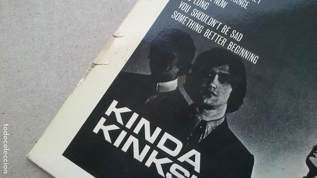 Discos de vinilo: THE KINKS, KINDA KINKS. LP - ESPAÑA - REEDICIÓN 1981 - BUEN ESTADO - Foto 11 - 92236470