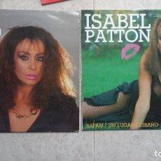 Discos de vinilo: ISABEL PATTON - LOTE DE 1 MAXI (SAFARI) + 1 LP (IMAGEN). Lote 92237785