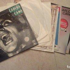 Discos de vinilo: COLECCIÓN DE 10 DISCOS LP DE CARLOS CANO. Lote 92238340