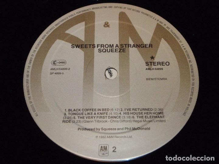 Discos de vinilo: Squeeze – Sweets From A Stranger HOLANDA 1982 A&M RECORDS - Foto 7 - 92240945