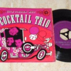 Discos de vinilo: 'T COCKTAIL TRIO* ?– (45) TOEREN MET HET COCKTAIL TRIO- RARE NETHERLANDS GRUP-1966-. Lote 92241805