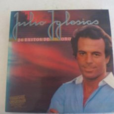 Discos de vinilo: JULIO IGLESIAS. 24 EXITOS DE ORO. CBS 1979. DOBLE LP. CARPETA DOBLE. DISCO VINILO LP. Lote 92243145