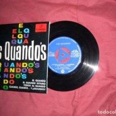 Discos de vinilo: LOS QUANDOS EP EL QUANDO GITANO 1965 SPAIN. Lote 92245855