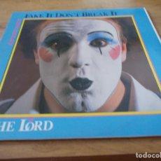 Discos de vinilo: THE LORD. CAPTAIN HANDS.FAKE IT, DON´T BREAK IT. Lote 92254725