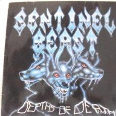Dischi in vinile: SENTINEL BEAST - DEPTHS DE DEATH 1986. Lote 92269165