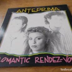 Discos de vinilo: ANTEPRIMA. ROMANTIC RENDEZ-VOUS. Lote 92276680