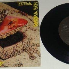 Discos de vinilo: AEROLINEAS FEDERALES - AHORA SOY FELIZ / VACACIONES / SOY FEA - PROMOCIONAL. Lote 95265811