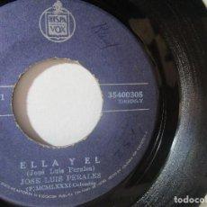 Discos de vinilo: JOSE LUIS PERALES COLOMBIA 45RPM T51 ESCASO R. Lote 92285980