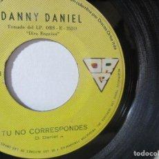 Discos de vinilo: DANNY DANIEL ORBE COLOMBIA 45RPM T51 ESCASO R. Lote 92291680