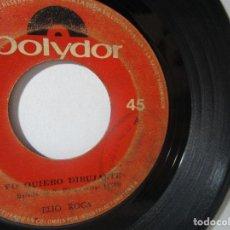 Discos de vinilo: ELIO ROCA POLYDOR COLOMBIA 45RPM T51 ESCASO R. Lote 92292150