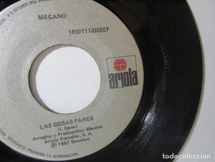 MECANO 1987 SONOLUX ARIOLA COLOMBIA 45RPM T51 ESCASO G. (Música - Discos - Singles Vinilo - Otros estilos)